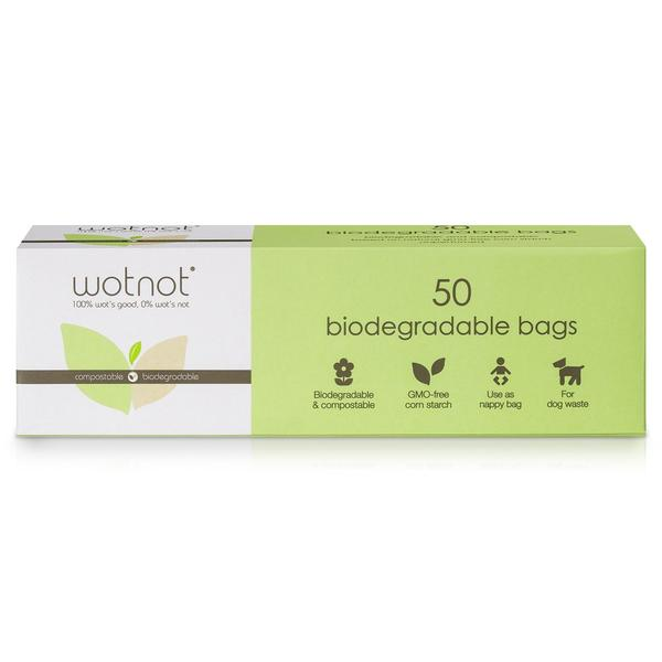Biodegradable Nappy Bags 50pk