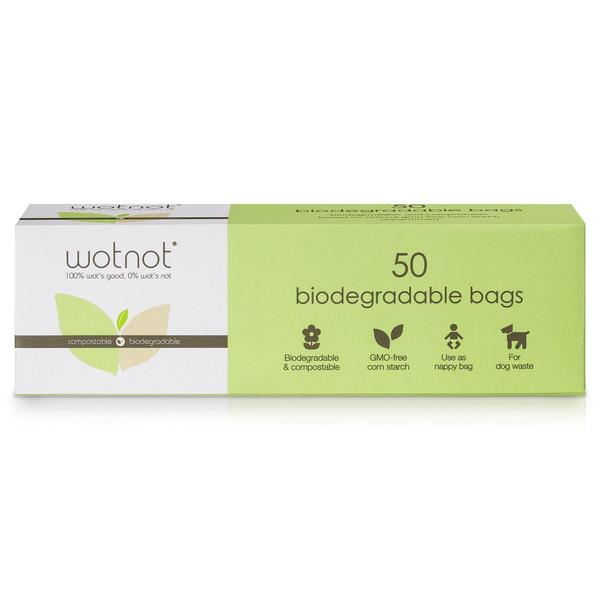 Biodegradable Nappy Bags 50pk